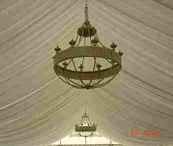 Lámparas banquetes