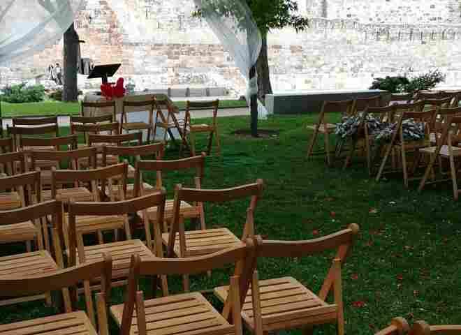 Wedding in the Castle Gardens (Zamora)