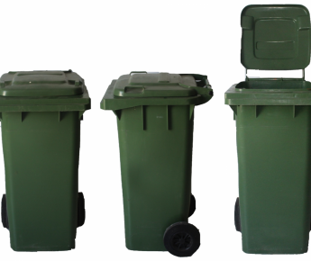Contenedor de basura pequeño