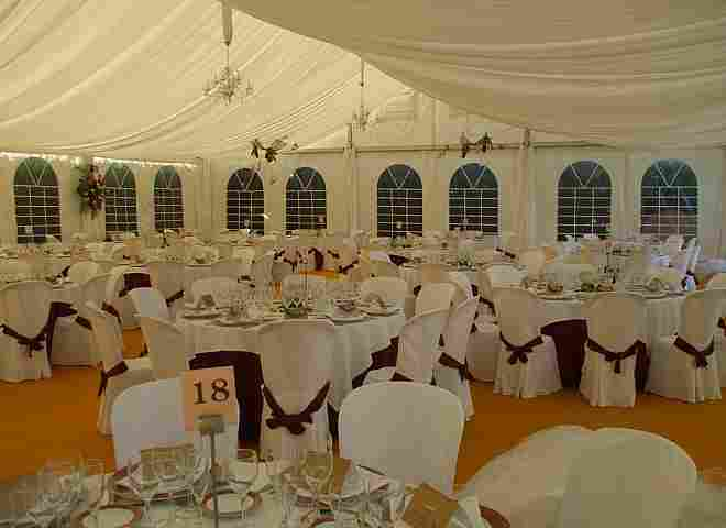 Wedding reception in Zamora